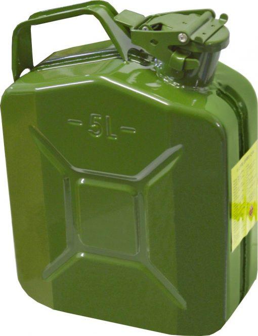 Canistra metalica, pentru combustibil, 5L, RO0403T-6 - ForeStore.ro