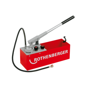 Pompa testare presiune instalatii manuala ROTHENBERGER RP 50 S / RP 50 S INOX