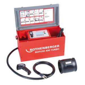 Sudare prin electrofuziune ROTHENBERGER ROFUSE TURBO 400 / 1200
