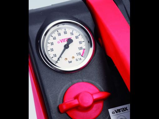 Pompa de testare presiune in instalatii Virax