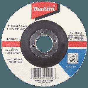 Makita A-80880 - DISC ȘLEFUIRE INOX 180X6X22 - ForeStore