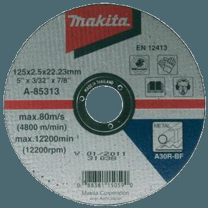 Makita A-85335 - DISC TAIERE OTEL A30R 230X22