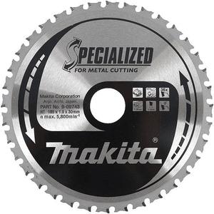 Makita B-09743 - PANZA CIRCULAR METAL/OTEL 185X30X36 - ForeStore