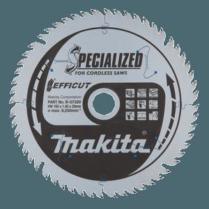 Makita B-57320 - PANZA CIRCULAR TIP EFFICUT 165x20x56th P - ForeStore