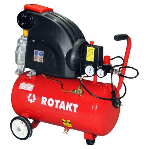 Compresor cu piston Rotakt ZA-2025C, 24 L, 8 bar - ForeStore.ro