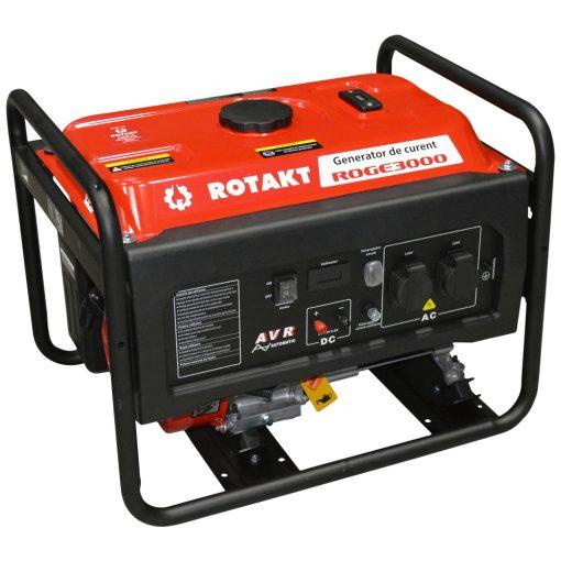 Generator de curent Rotakt ROGE3000, 3.0 KW - ForeStore.ro