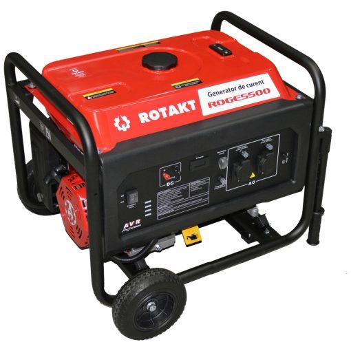 Generator de curent Rotakt ROGE5500, 5.5 KW - ForeStore.ro