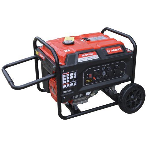Generator de curent Rotakt ROGE6500S, 5.5 KW - ForeStore.ro