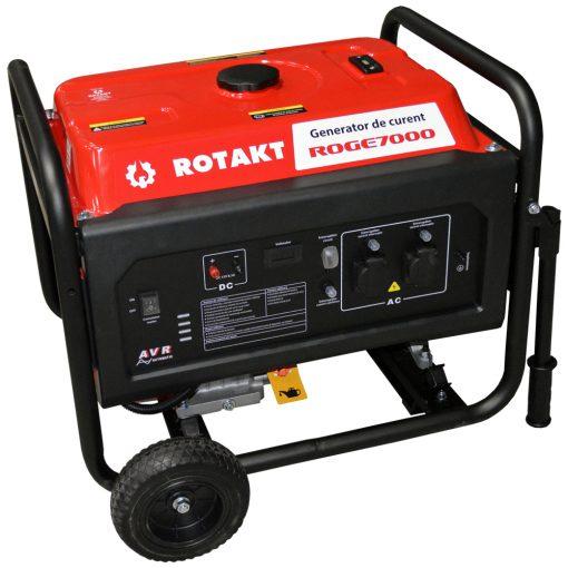 Generator de curent Rotakt ROGE7000, 6.8 KW - ForeStore.ro