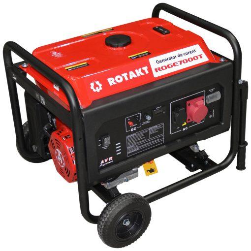 Generator de curent Rotakt ROGE7000T, 6.8 KW, trifazic - ForeStore.ro