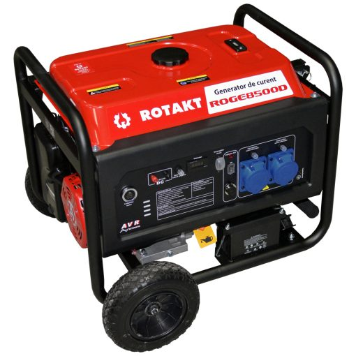 Generator de curent Rotakt ROGE8500D, 8.5 KW (Compatibil automatizare - ATS) - ForeStore.ro