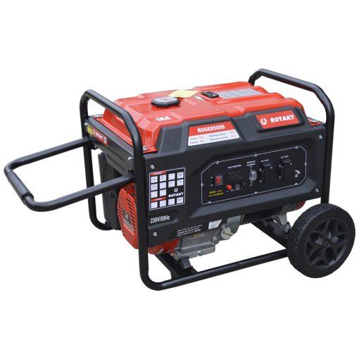 Generator de curent Rotakt ROGE8500S, 7.5 KW - ForeStore.ro