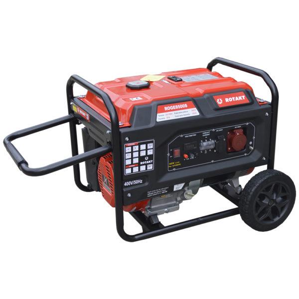 Generator de curent Rotakt ROGE8500ST, 7.5 KW, trifazic - ForeStore.ro