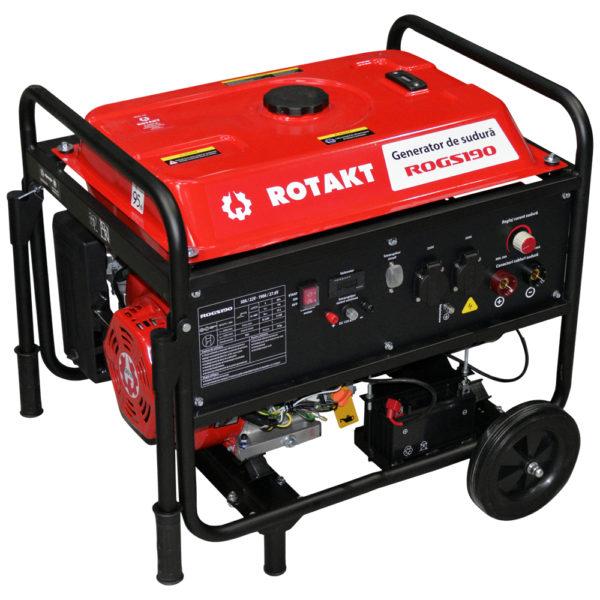 Generator de curent cu sudura Rotakt ROGS190, 3.9 KW - ForeStore.ro
