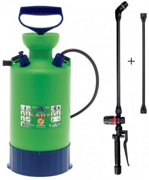 Pulverizator / Pompa de stropit Dimartino-GDM Lady, 7 L - ForeStore.ro